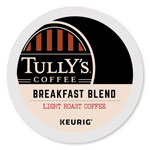 Tully's Coffee® Breakfast Blend Coffee K-Cups, 96/Carton