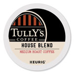 Tully's Coffee® House Blend Coffee K-Cups, 96/Carton