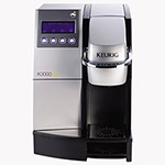 Keurig® K3000SE Commercial Brewer, 35 x 18, Silver/Black