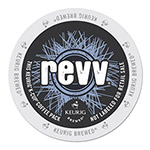revv® Energy Coffee K-Cups, 22/Box, 4 Box/Carton