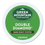 Green Mountain Double Black Diamond Extra Bold Coffee K-Cups, 24/Box
