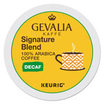 Gevalia Kaffee Signature Blend Decaf K-Cups, 24/Box