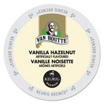 Van Houtte Flavored Coffee K-Cups, Vanilla Hazelnut Decaf, 24/Box