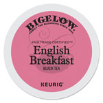 Bigelow Tea Company English Breakfast Tea K-Cups, 24/Box, 4 Box/Carton