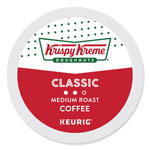 Krispy Kreme Doughnuts Smooth Coffee K-Cups, Light Roast, 24/Box