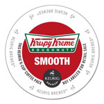 Krispy Kreme Doughnuts Smooth Coffee K-Cups, Light Roast, 96/Carton