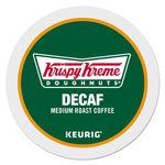 Krispy Kreme Doughnuts Decaf Coffee K-Cups, Decaf Medium Roast, 24/Box