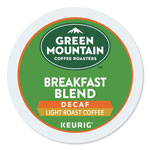 Green Mountain Decaf Variety Coffee K-Cups, 88/Carton