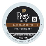 Peet's French Roast Coffee K-Cups, 22/Box