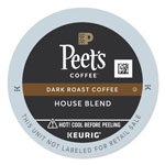 Peet's House Blend Coffee K-Cups, 22/Box