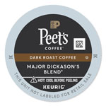 Peet's Major Dickason's Blend K-Cups, 22/Box