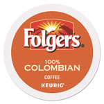 Folgers Gourmet Selections Lively Colombian Coffee K-Cups, 24/Box