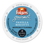 Folgers Gourmet Selections Vanilla Biscotti Coffee K-Cups, 96/Carton