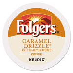 Folgers Caramel Drizzle Coffee K-Cups, 24/Box