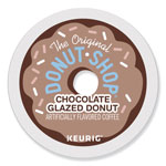 Donut House™ Chocolate Glazed Donut Coffee K-Cups, 96/Carton