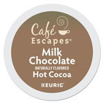 Cafe Escapes® Cafe Escapes Milk Chocolate Hot Cocoa K-Cups, 96/Carton