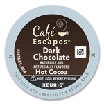 Cafe Escapes® Dark Chocolate Hot Cocoa K-Cups, 24/Box