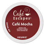 Cafe Escapes® Mocha K-Cups, 24/Box, 96/Carton