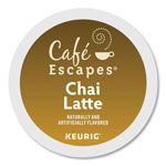 Cafe Escapes® Cafe Escapes Chai Latte K-Cups, 24/Box