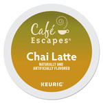 Cafe Escapes® Cafe Escapes Chai Latte K-Cups, 96/Carton