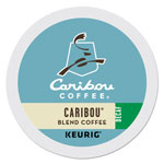 Caribou Coffee® Caribou Blend Decaf Coffee K-Cups, 96/Carton