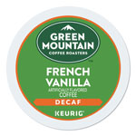 Green Mountain French Vanilla Decaf Coffee K-Cups, 24/Box