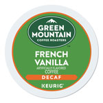 Green Mountain French Vanilla Decaf Coffee K-Cups, 96/Carton
