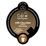 Cafe Escapes® Milk Chocolate Hot Cocoa Vue Pack, 16/Box
