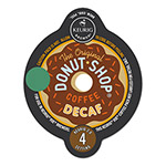 The Original Donut Shop® Extra Bold Coffee Vue Pack, Decaf, 16/Box