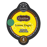 Celestial Seasonings® Lemon Zinger Herbal Tea Vue Pack, 16/Box