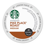 Starbucks Pike Place Coffee K-Cups Pack, 24/Box, 4 Box/Carton
