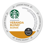 Starbucks Veranda Blend Coffee K-Cups, 24/Box, 4 Box/Carton