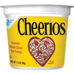 General Mills Cereal-in-a-Cup, Single Serve, 1.30 oz., 6/PK, Cheerios