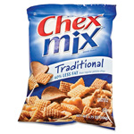 General Mills Chex Mix Snack Pack, 3.75oz., 8/BX, Traditional