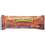 General Mills Nut Granola Bars, Sweet/Salty, 1.2oz, 16/BX, Almond