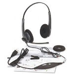 GN Netcom 2000 USB Wideband Stereo Headset, Foam Ear Cushions