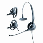 GN Netcom GN 2110 St 3 In 1 Headset w/Over The Ear Surefit Soundtube