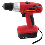 "Great Neck Tools Great Neck 18 Volt 2 Speed Cordless Drill, 3/8"" Keyless Chuck"