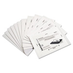GoECOlife Shredder Lubricant Sheets, 8-1/2 x 5-1/2, 24 Sheets/Pack