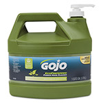 Gojo Ecopreferred Pumice Hand Cleaner, 1 Gal Pump Bottle, Lime Scent, 4/Carton