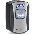 PURELL® Hands Free Soap Dispenser, Black/Chrome
