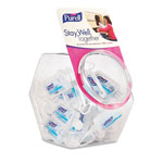 Purell Advanced Instant Hand Sanitizer Gel, Jelly Wrap Bracelet 1 oz Bottle, 25/Bowl