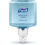 Purell Healthcare HEALTHY SOAP Gentle and Free Foam, 1200 mL, For ES4 Dispensers, 2/CT