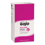 Gojo Antibacterial Moisturizing Floral Soap Dispenser Refill, 5000 mL