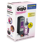 Gojo ADX-7 Antibacterial Foam Handwash Kit, 700mL, Manual, Chrome/Black