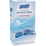 Purell Cottony Sanitizing Wipes, Box of 120