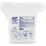 "Purell Premoistened Hand Sanitizing Wipes, Nonwoven Fiber, 5"" x 8"", 1500/Pack, 2 PK/CT"