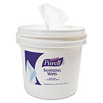 Purell Sanitizing Wipes Bucket Dispenser,11.625x11.625x10.125, 1200/1500 Wipe Capacity