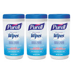 Purell Hand Sanitizing Wipes, 5.7 x 7 1/2, Clean Refreshing Scent, 40/Canister,18/Ctn
