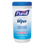 Purell Hand Sanitizing Wipes, 5.7 x 7 1/2, Clean Refreshing Scent, 40/Canister